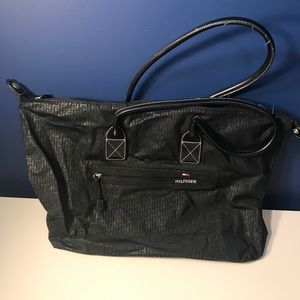 Tommy Hilfiger large black bag